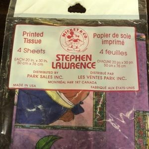 Sleeping Beauty Tissue by Stephen Lawrence